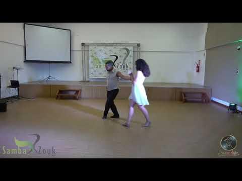 Dance a Dois SAMBAZOUK FEIRA  Herval Lima e Taynara Oira