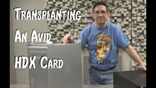 Installing an Avid HDX Card