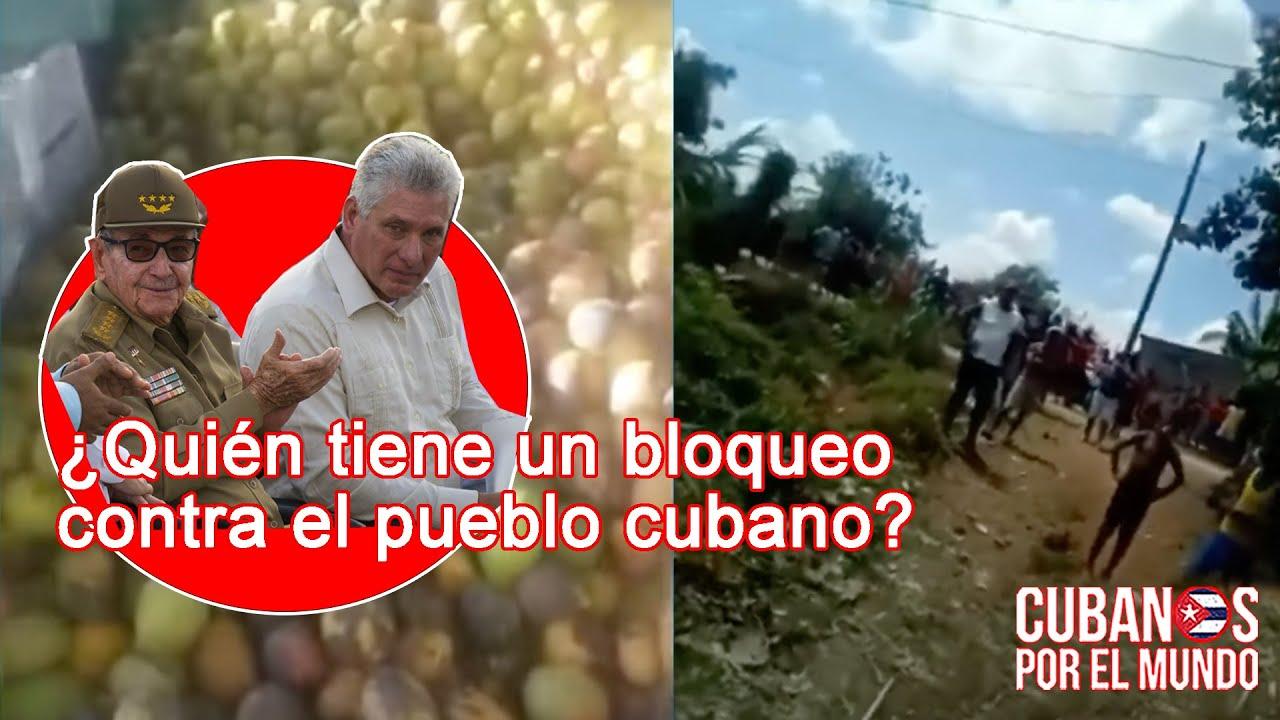 ¿Cuál es el bloqueo a Cuba? Pescadores que no pueden pescar y campesinos que pierden sus cosechas