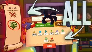 STEALING ALL THE SCROLLS FROM CLASSROOM!   King of Thieves