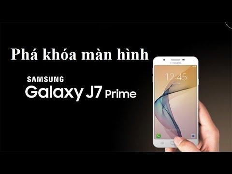 Phá khóa màn hình SAMSUNG J7 Prime Không Phải xác minh tài khoản Google