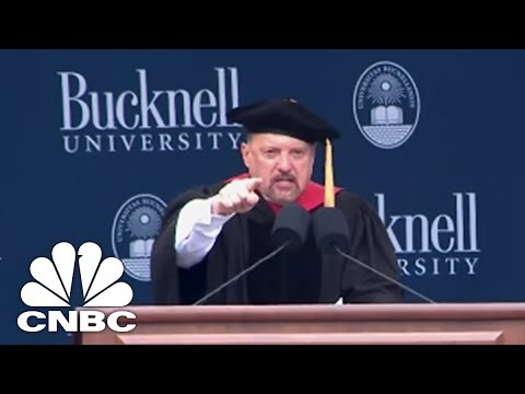 Jim Cramer Tells Grads 'It's Okay To Fail But It's Not Okay To Quit' | CNBC