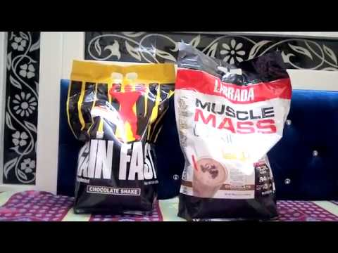 Universal Nutrition Gain Fast vs Labrada Muscle Mass Gainer