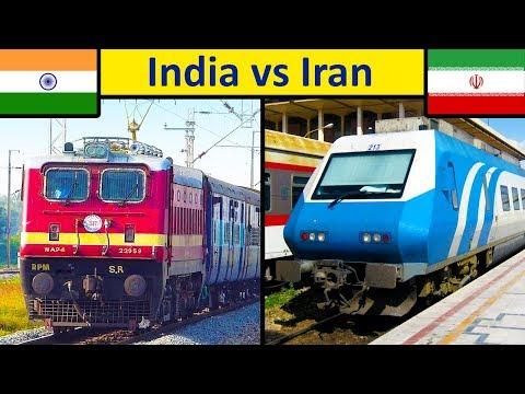 Indian Railways vs Iranian Railways Comparison