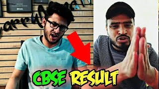 Amit Bhadana And CarryMinati On CBSE *RESULT* Of Class 12, 2018 | Fitness Industry Drama | UIC, Anky