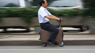 Китайский Умелец Изобрел Чемодан-скутер (Новости)   заработок в интернете автопилот