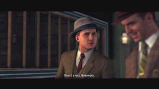 L.A. Noire: The Marriage Made in Heaven 5 STAR Walkthrough Case 2 [The Traffic Cases] Let