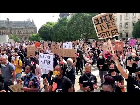 Black Lives Matter rallies staged in London and Leeds
