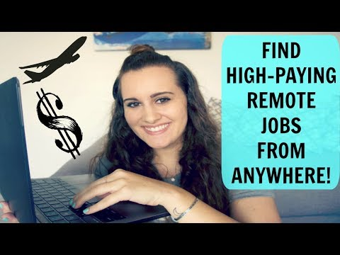 How to find legit online jobs with HIGH Pay! // Work from ho
