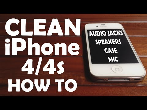 how to clean iphone speakers how to clean you iphone 4 or 4s speakers microphone and 17113