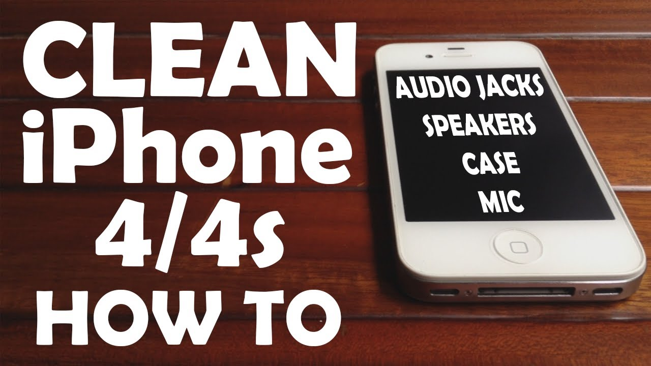 how to clean iphone headphone jack clean iphone 4 4s after using 2 years audio speaker 18658