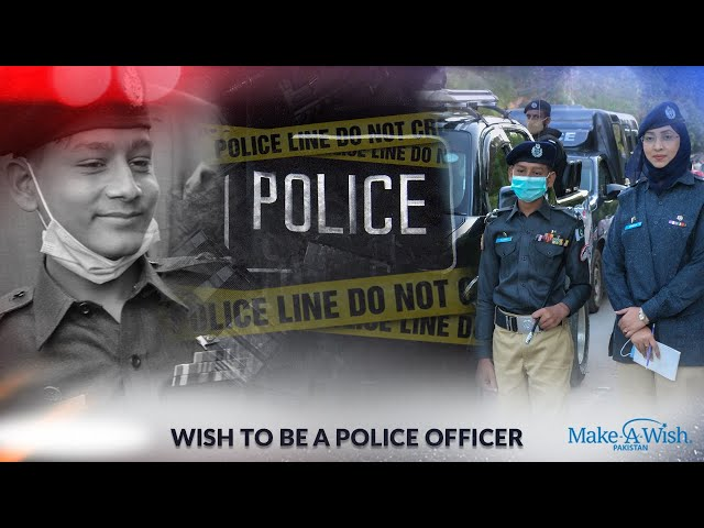 Wish to be a Police officer