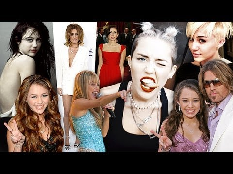 Miley's Transformation From Tween to Twerk! | POPSUGAR Feature
