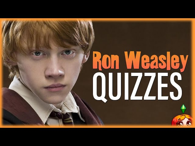 How Well Do I Know Ron Weasley? // Wizarding World Quizzes