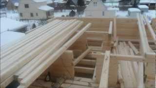 Строительство дома из профилированного бруса(Строительная компания