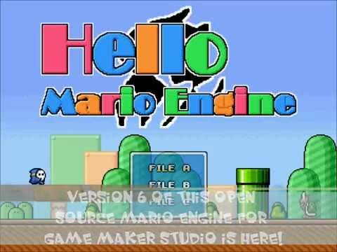 game maker mario engine