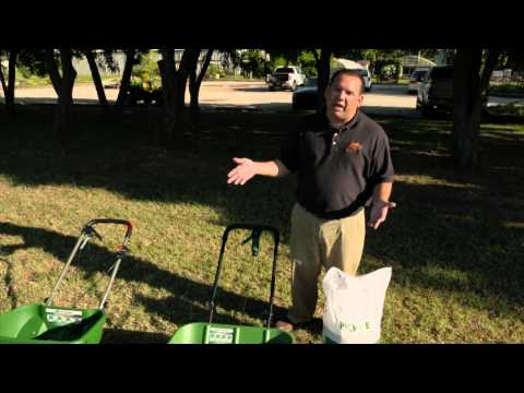 Calibrating A Spreader For Turfgrass Seed