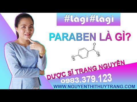 Paraben là gì? Paraben có độc hại không