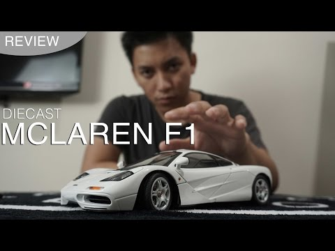 Diecast AutoArt Signature Mclaren F1