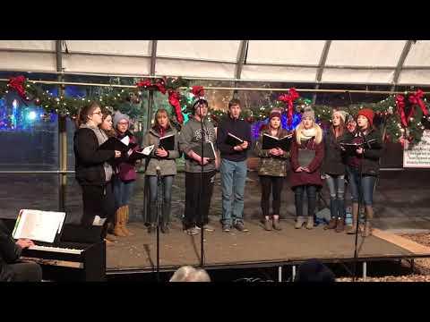 Wauzeka High School Choir, Rotary Lights, Dec. 21, 2017 - Hallelujah
