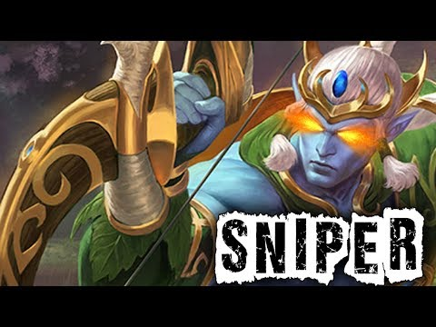 Smite: The Ability Based Sniper! - Masters Ranked Duel