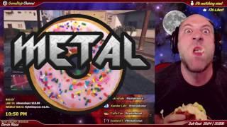 Metal Donut During a GameDojo Live Stream! thumbnail