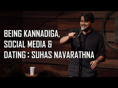 Being kannadiga, Languages, social media, and dating: Stand up comedy by Suhas Navarathna