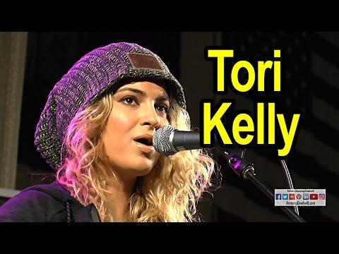 Tori Kelly Visits Muskego High School - 2015 Goodwill Fall Haul Donation Winner