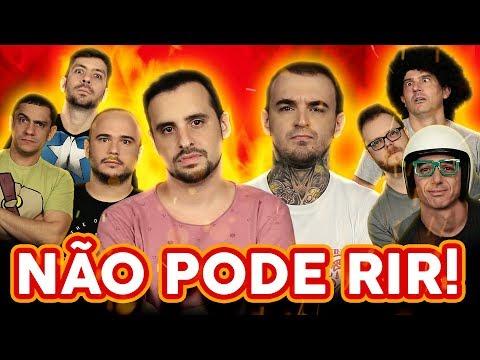 NÃO PODE RIR - com PC Siqueira Irmãos Piologo Rudy Landucci e Vinheteiro