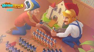 HomeScapes Дворецкий #267 (уровни 1755-1761) Эпичная битва между Остином и Папой