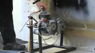 Primo avvio motore lambretta J50