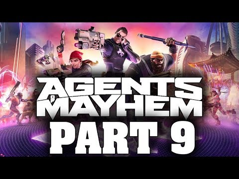 "Agents Of Mayhem - Let's Play - Part 9 - ""Dimensions Of The Ninja, Worlds Within Worlds"""
