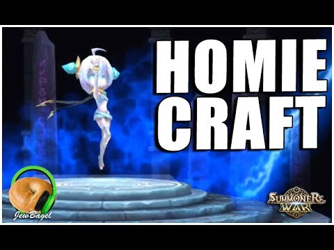 SUMMONERS WAR : Crafting Our Light/Dark Support Homunculus!