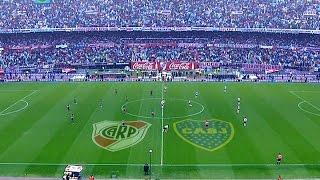 River y Boca empataron en un emocionante partido en donde la lluvia fue protagonista