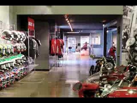 Ducati Retail Design Part 1