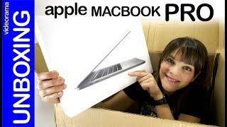 Apple Macbook Pro touchbar unboxing-new Intel inside-
