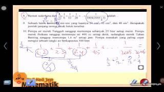 Olimpiade Matematika OSN 5 SD SMP SMA Pembahasan