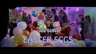 EASTER EGGS you missed from 'Scotty Sire - Sad Song'!! (Liza & David making out??)