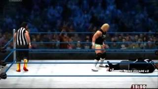 【WWE2K14】ビリー・ガン vs ヴィセラ【XBOX360】- Billy Gunn vs Viscera -