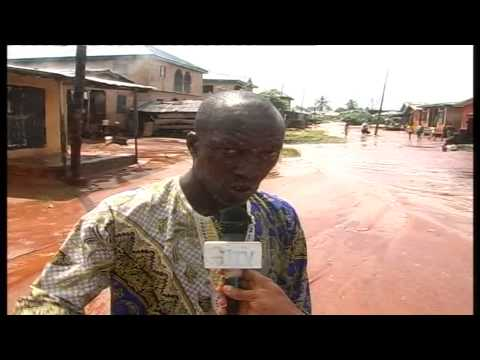 Residents Of Eke Street In Benin Express Fear Over Flood Menace In The Area