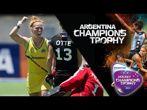 Australia vs Germany - Women's Hockey Champions Trophy 2014 Argentina Group B [2/12/2014]