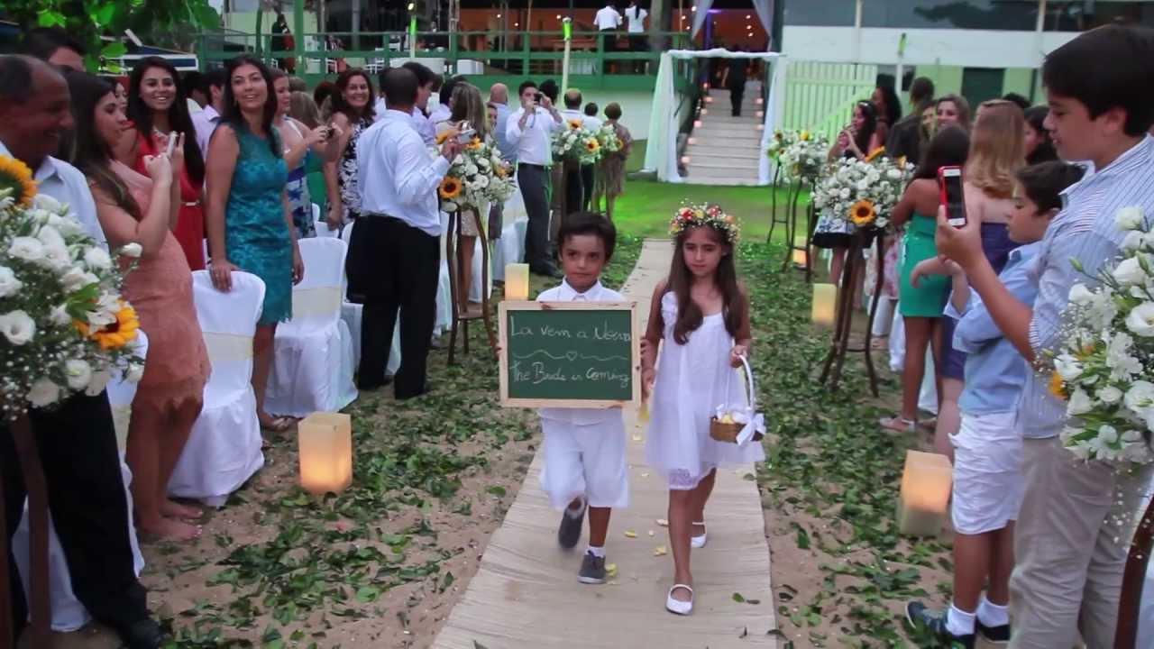 Filmagem De Casamento Em Ubatuba Casamento Na Praia