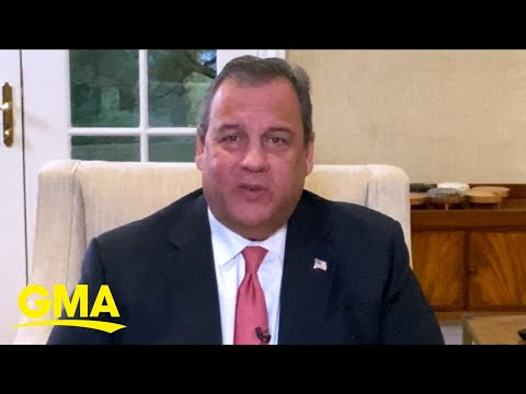Chris Christie speaks out after contracting COVID-19 l GMA
