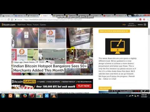 Indian Bitcoin Bangalore Hotspot Accepts 50 Merchants For Shopping