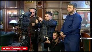 Рамзан  Кадыров встретился с Руководителем Администрации Главы и Правительства ЧР