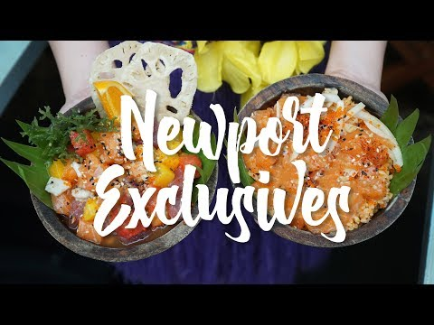 5 Exclusive Restaurants Worth Going to in Newport Mall!