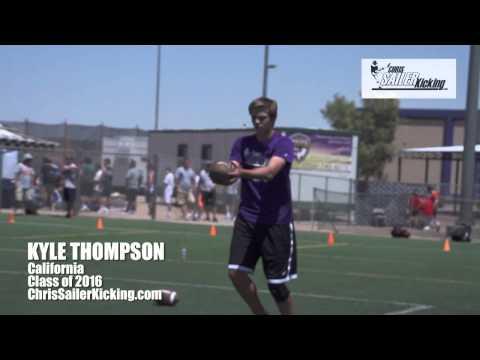 Kyle Thompson - Punter