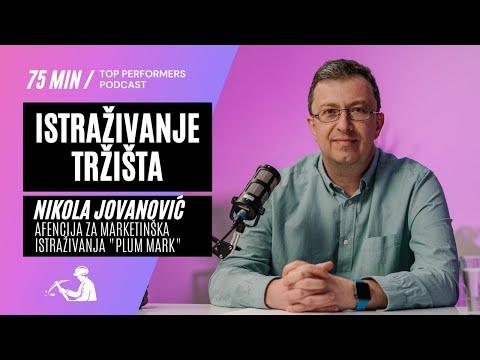 Istraživanje tržišta - Nikola Jovanović, agencija Plum Mark - Top Performers podcast E08