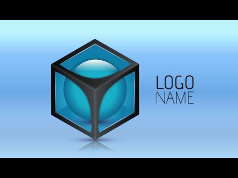 Adobe Illustrator CC | 3D Logo Design Tutorial (Blues)