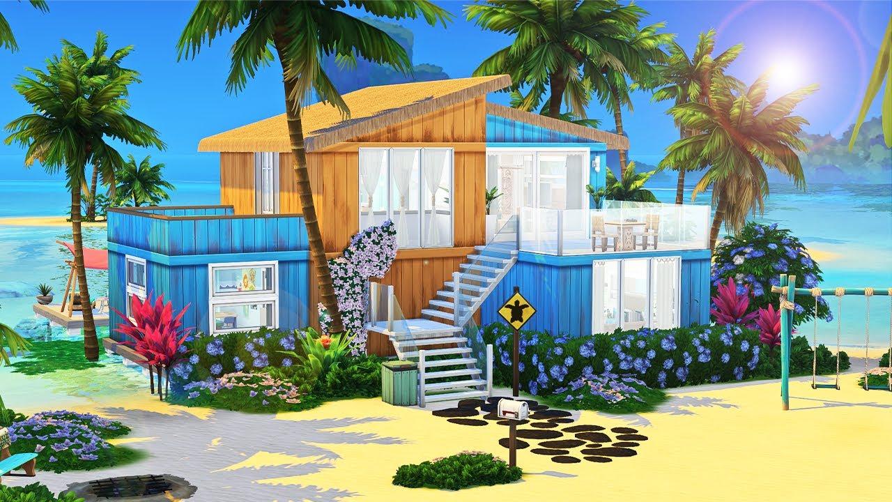 Mermaid Family Home 🌺 || The Sims 4: Speed Build thumbnail